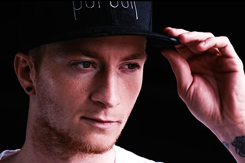Marco Reus beim Pursuit Fashion Shoot